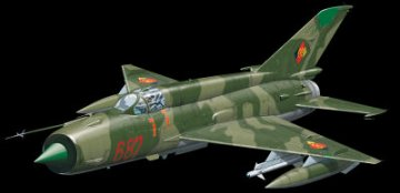 MiG-21MF Weekend · EDU 84125 ·  Eduard · 1:48