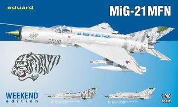 MiG-21 MFN - Weekend Edition · EDU 84128 ·  Eduard · 1:48