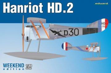 Hanriot HD.2 - Weekend Edition · EDU 8413 ·  Eduard · 1:48