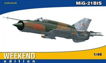MiG-21BIS - Weekend Edition · EDU 84131 ·  Eduard · 1:48