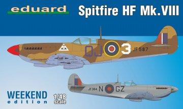 Spitfire HF Mk.VIII - Weekend Edition · EDU 84132 ·  Eduard · 1:48