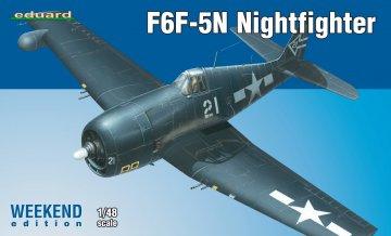 F6F-5N Nightfighter - Weekend Edition · EDU 84133 ·  Eduard · 1:48