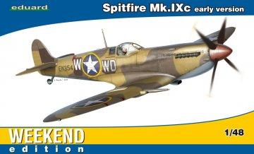 Spitfire Mk.IXc early version - Weekend Edition · EDU 84137 ·  Eduard · 1:48