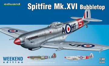 Spitfire Mk.XVI Bubbletop - Weekend Edition · EDU 84141 ·  Eduard · 1:48