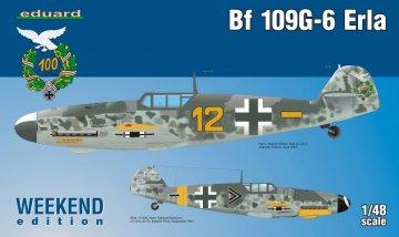 Messerschmitt Bf 109 G-6 Erla - Weekend Edition-Edition · EDU 84142 ·  Eduard · 1:48