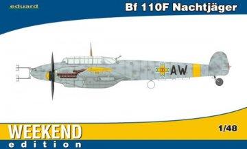 Messerschmitt Bf 110 F Nachtjäger - Weekend Edition · EDU 84145 ·  Eduard · 1:48