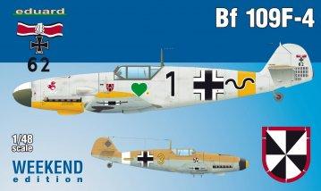 Messerschmitt Bf 109 F-4 - Weekend Edition · EDU 84146 ·  Eduard · 1:48