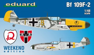 Messerschmitt Bf 109 F-2 - Weekend Edition · EDU 84147 ·  Eduard · 1:48