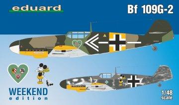Messerschmitt Bf 109 G-2 - Weekend Edition · EDU 84148 ·  Eduard · 1:48