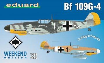 Messerschmitt Bf 109 G-4 - Weekend Edition · EDU 84149 ·  Eduard · 1:48