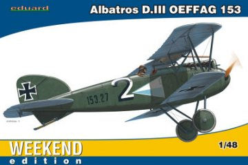 Albatros D.III OEFFAG - Weekend Edition · EDU 84150 ·  Eduard · 1:48