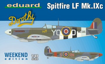 Spitfire LF Mk.IXc  - Weekend Edition · EDU 84151 ·  Eduard · 1:48