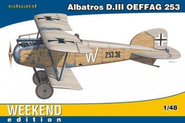 Albatros D.III OEFFAG 253 - Weekend Edition · EDU 84152 ·  Eduard · 1:48