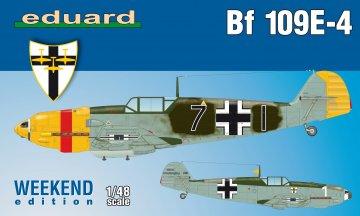 Messerschmitt Bf 109 E-4 - Weekend Edition · EDU 84153 ·  Eduard · 1:48