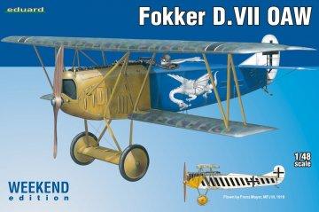 Fokker D.VII OAW - Weekend Edition · EDU 84155 ·  Eduard · 1:48