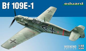 Messerschmitt Bf 109 E-1 - Weekend Edition · EDU 84158 ·  Eduard · 1:48