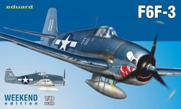F6F-3 - Weekend Edition · EDU 84160 ·  Eduard · 1:48