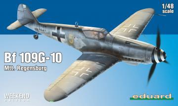 Messerschmitt Bf 109 G-10 Mtt. Regensburg - Weekend Edition · EDU 84168 ·  Eduard · 1:48