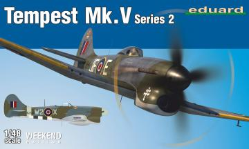 Tempest Mk.V ser. 2 - Weekend Edition · EDU 84170 ·  Eduard · 1:48