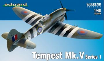 Tempest Mk.V Series 1 - Weekend Edition · EDU 84171 ·  Eduard · 1:48