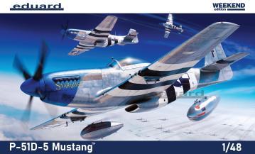 P-51D-5 - Weekend Edition · EDU 84172 ·  Eduard · 1:48