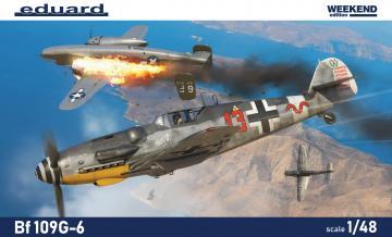 Messerschmitt Bf 109 G-6 - Weekend Edition · EDU 84173 ·  Eduard · 1:48