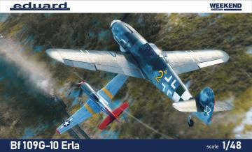 Messerschmitt Bf 109 G-10 ERLA - Weekend edition · EDU 84174 ·  Eduard · 1:48