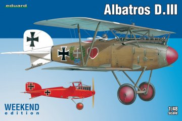 Albatros D.III  - Weekend Edition · EDU 8438 ·  Eduard · 1:48