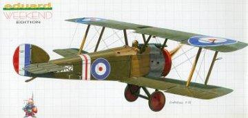 Sopwith F.1 Camel · EDU 8450 ·  Eduard · 1:48