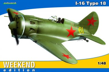 I-16 Type 18 - Weekend Edition · EDU 8465 ·  Eduard · 1:48