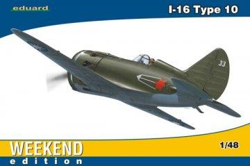 I-16 type 10 - Weekend Edition · EDU 8469 ·  Eduard · 1:48