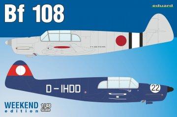 Messerschmitt Bf 108 - Weekend Edition · EDU 8479 ·  Eduard · 1:48