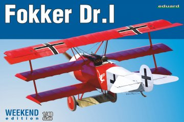Fokker Dr.I - Weekend Edition · EDU 8487 ·  Eduard · 1:48