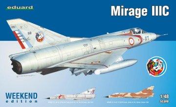 Mirage IIIC - Weekend Edition · EDU 8496 ·  Eduard · 1:48