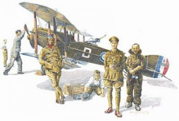 RFC Personnel World War I · EDU 8505 ·  Eduard · 1:48