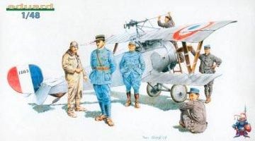 Aeronautique Militaire Francaise 1916 · EDU 8511 ·  Eduard · 1:48