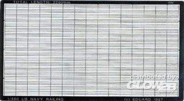 US Navy Reling  · EDU 99001 ·  Eduard · 1:350