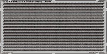 Railings 45´3 chain bars long · EDU 99019 ·  Eduard · 1:700