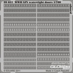 WWII IJN waterlight doors · EDU 99031 ·  Eduard · 1:700