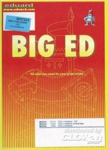 BIG ED - SB2C-4 HELLDIVER [Academy] · EDU BIG7222 ·  Eduard · 1:72