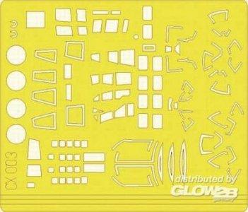 Yellow Tape Xpress Mask He-111H-6 [Hasegawa] · EDU CX003 ·  Eduard · 1:72