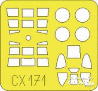 F4U-1 Corsair  Birdcage [Tamiya] · EDU CX171 ·  Eduard · 1:72