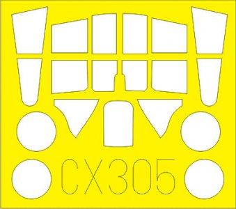 P-40B [Airfix] · EDU CX305 ·  Eduard · 1:72