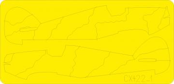 Hurricane camo scheme · EDU CX422 ·  Eduard · 1:72