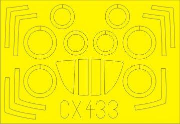 MIG-29A Fulcrum (Izdeliye 9.12) [Trumpeter] · EDU CX433 ·  Eduard · 1:72