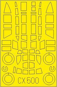Q1W1 Tokai / Lorna [Fine Molds] · EDU CX500 ·  Eduard · 1:72