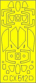 F/A-18E - TFace [Academy] · EDU CX521 ·  Eduard · 1:72