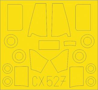 Dornier Do 27 [Special Hobby] · EDU CX527 ·  Eduard · 1:72