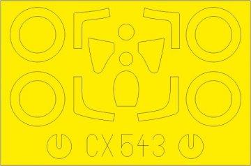 Su-7BMK [Modelsvit] · EDU CX543 ·  Eduard · 1:72