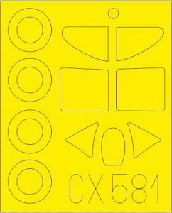 D.520 [Hasegawa] · EDU CX581 ·  Eduard · 1:72
